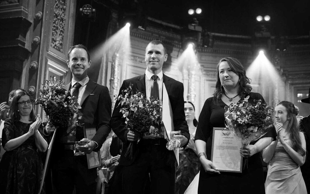 Årets gymnasielärare finns på Klara Gymnasium i Karlstad